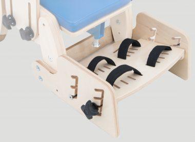 KDO_616 Podnóżek z2-punkowymi pasami stabilizującymi stopy