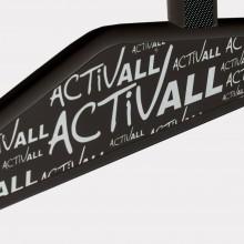 Parapódium pre dospelých - mobilné chodítko - veľkosť 5 čierna farba