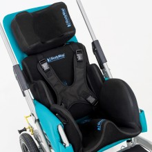 A unique advantage of OMBRELO BodyMap™ stroller is connection between its construction and BodyMap® vacuum system