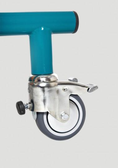 PML_009 Kołoz hamulcem oporowym (75 mm)