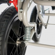 Rear wheels with shock absorbers
