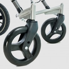 Swivel front wheels