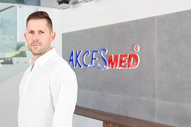 Przemysław Dudek Kierownik ds. rozwoju rynku - Kraj Kom.: 516 183 883 mail: p.dudek@akces-med.com