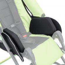 ULE_149 Niskie peloty sztywne tułowia z poduszkami zawężającymi siedzisko o 6 cm