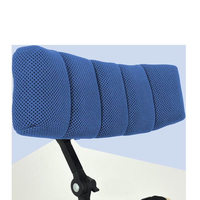 Innowacyjny zagłówek HexagonPro© zabezpiecza iamortyzuje głowę. Posiada ergonomiczny iregulowany kształt pozwalający nakomfortowe dopasowanie zagłówka dopacjenta